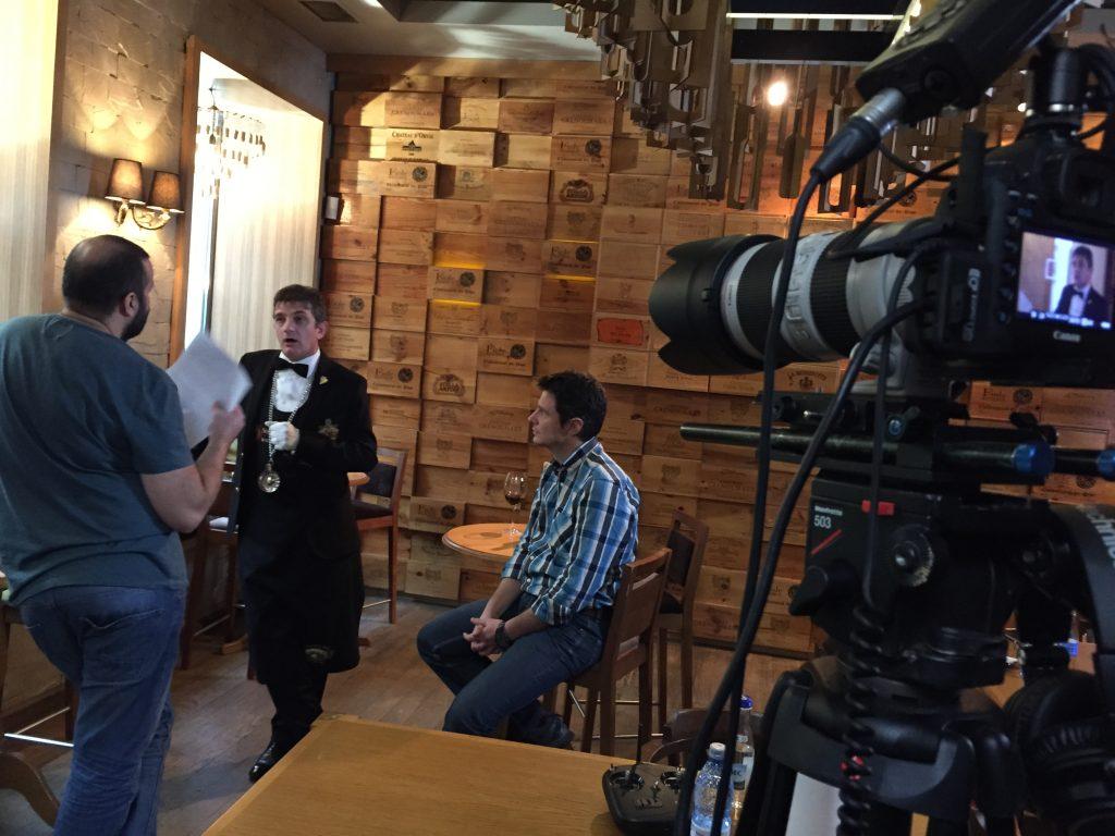 De vorba cu Sergiu Nedelea inainte de inceperea filmarilor