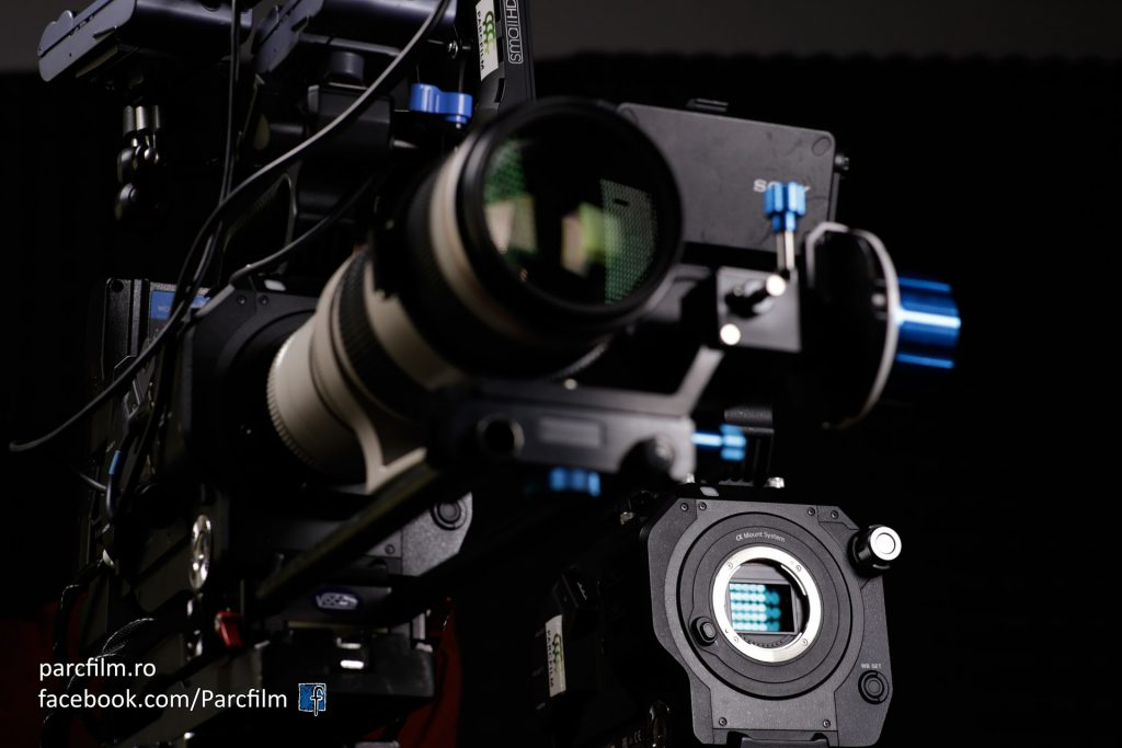 Just an artistic view of the Sony FS7 :)