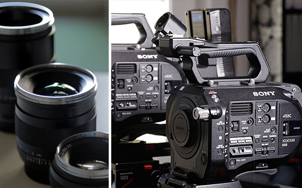 inchiriere camera sony obiective carl zeiss