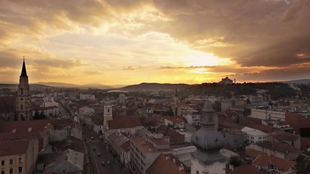 time lapse cluj catedrala